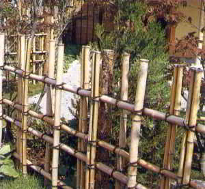 Забор из веревки своими руками